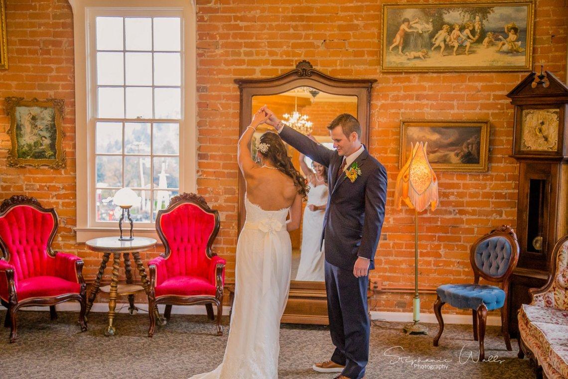 1st look Bridals 032 KK & Zack | Hollywood Schoolhouse Wedding | Woodinville, Wa Wedding Photographer