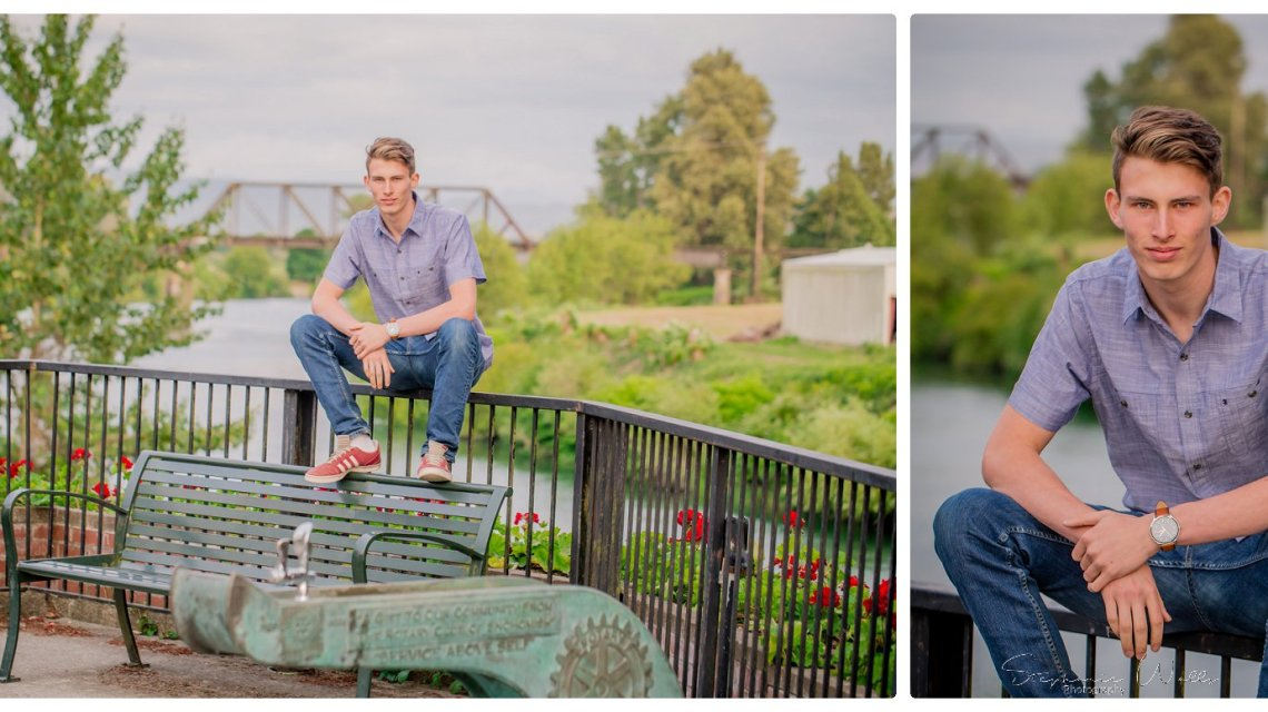 Josh Co2019 | Historic Downtown Snohomish | Snohomish, Wa High School Senior Photographer