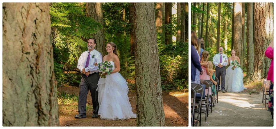 Ceremony 118 950x444 Skys the Limit | Kitsap Memorial State Park | Kitsap Wedding Photographer