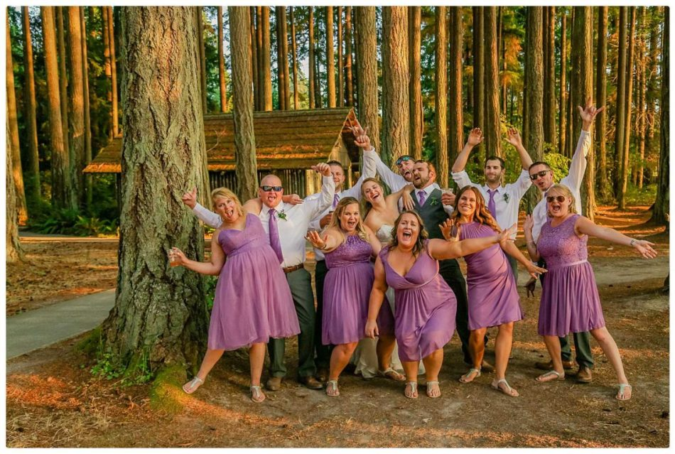 Wedding Party 197 950x639 Skys the Limit | Kitsap Memorial State Park | Kitsap Wedding Photographer