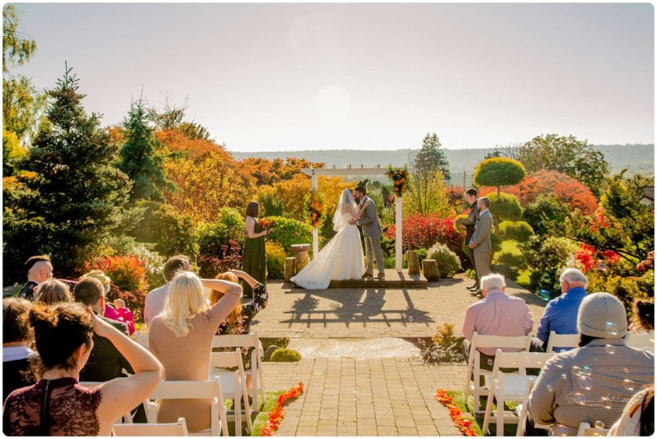Mingling Ceremony 171 950x636 Olympic View Estates Wedding Autumn Love with Ayla and David