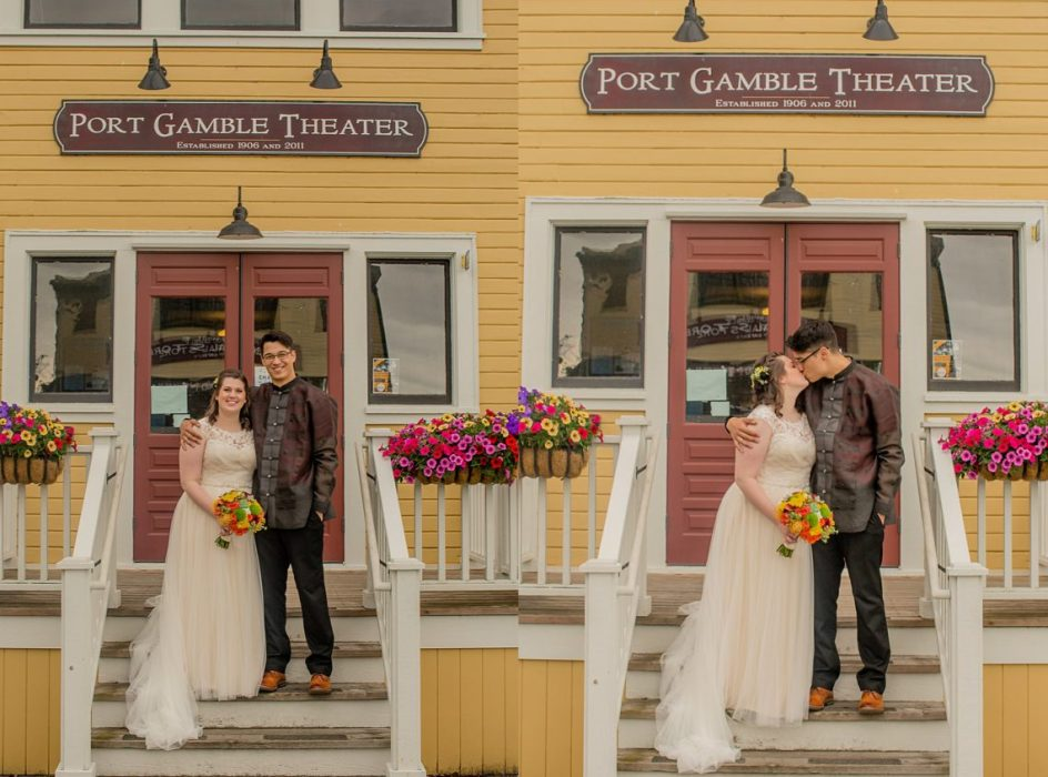 %name Port Gamble Pavilion Wedding of Paige and Will