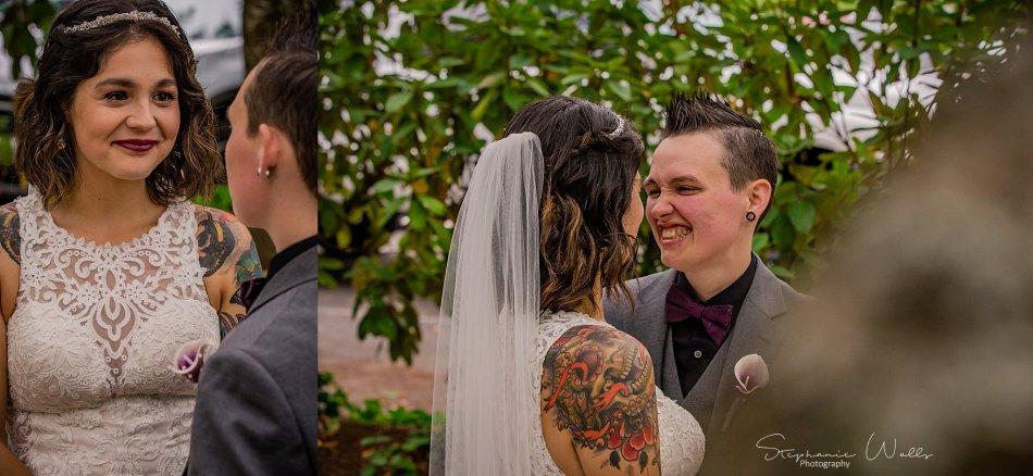 Stephanie Walls Photography 0217 950x438 Wayside United Church of Christ Wedding of Melissa and Melba