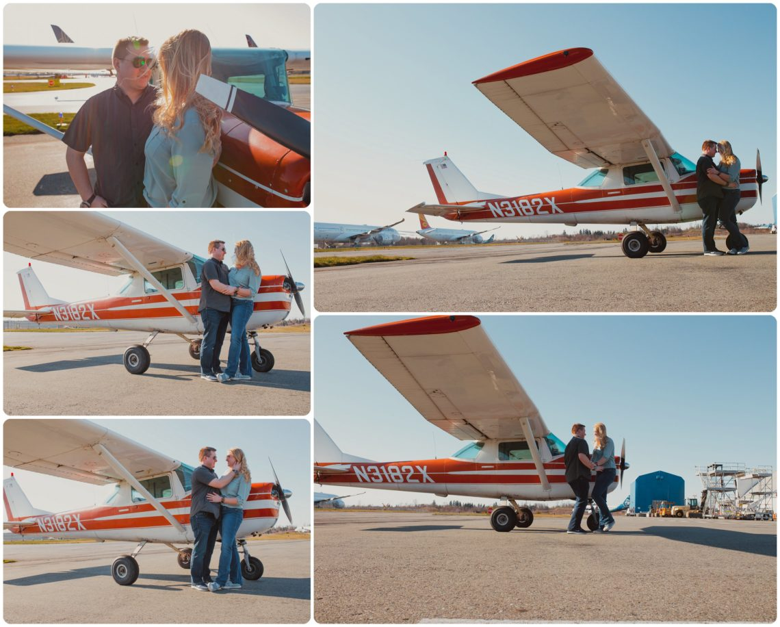 Stephanie Walls Photography 1019 scaled Paine Field  Edmonds Beach Engagement | Laura and Evan