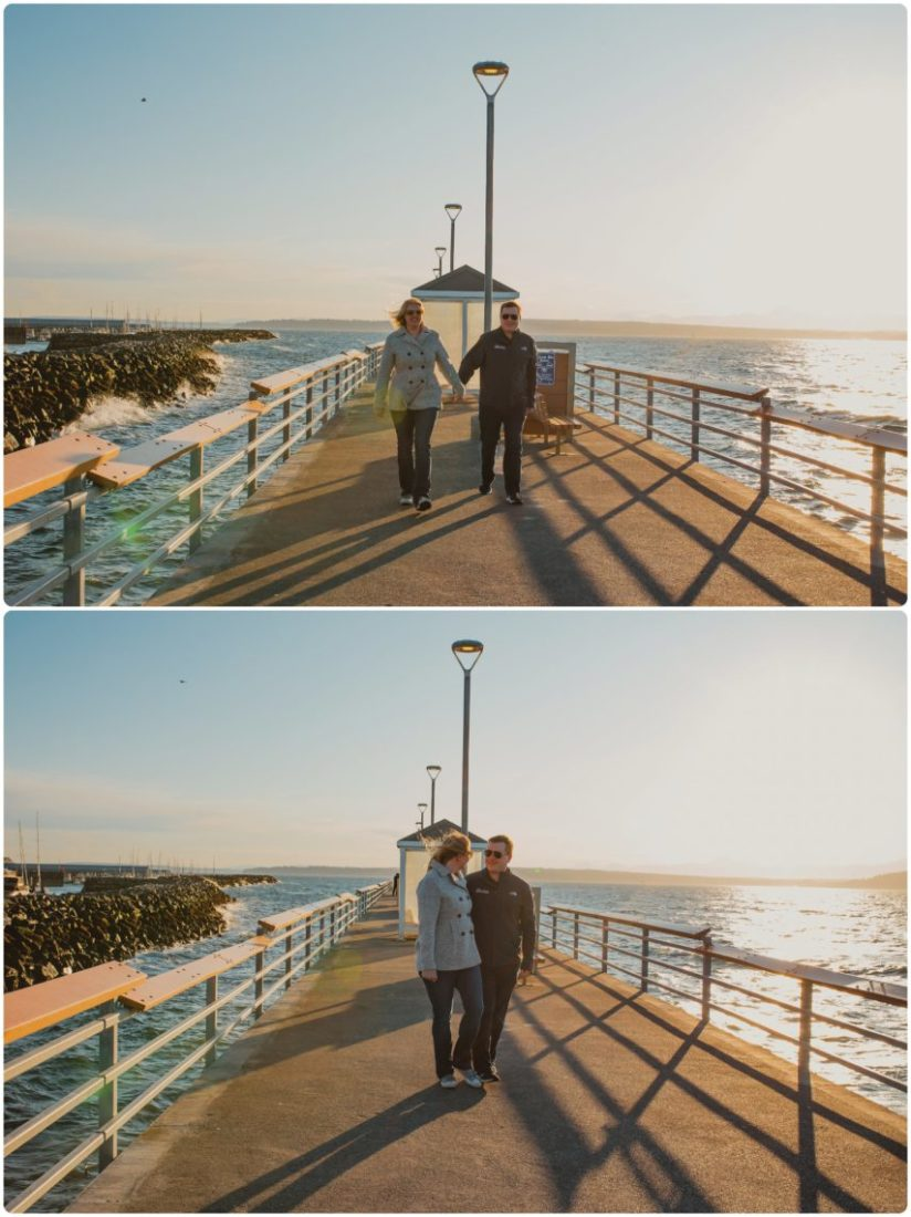 Stephanie Walls Photography 1030 scaled Paine Field  Edmonds Beach Engagement | Laura and Evan