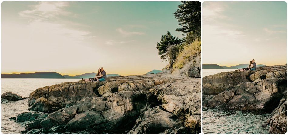 Stephanie Walls Photography 1146 950x447 Washington Park Anacortes Engagement with Richie and Kelsey