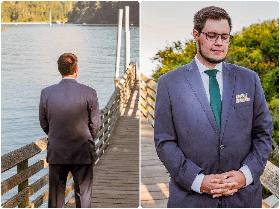 Stephanie Walls Photography 1165 935x700 Summer Deception Pass Elopement at Rosario Beach | Jacinda & Trevor