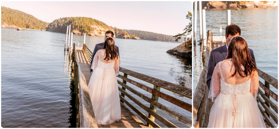 Stephanie Walls Photography 1169 950x441 Summer Deception Pass Elopement at Rosario Beach | Jacinda & Trevor