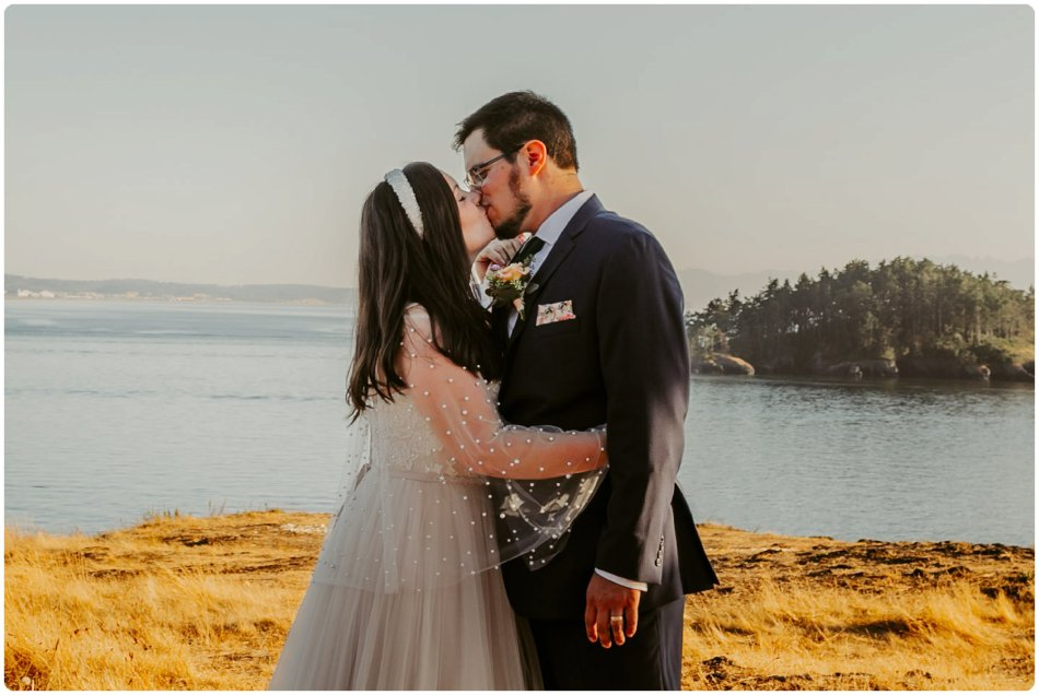 Stephanie Walls Photography 1186 950x636 Summer Deception Pass Elopement at Rosario Beach | Jacinda & Trevor