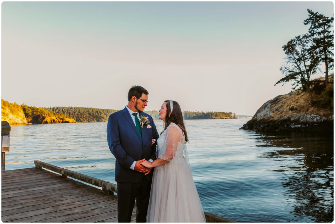 Stephanie Walls Photography 1192 scaled Summer Deception Pass Elopement at Rosario Beach | Jacinda & Trevor