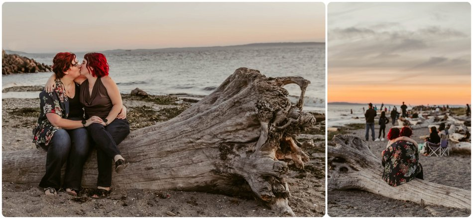 Stephanie Walls Photography 1261 950x441 Edmonds Beach Park Engagement Session with Kristy and Kat