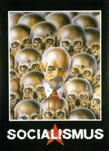 socialismus german postcard 1990