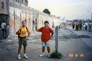 At the Walll, August 1990