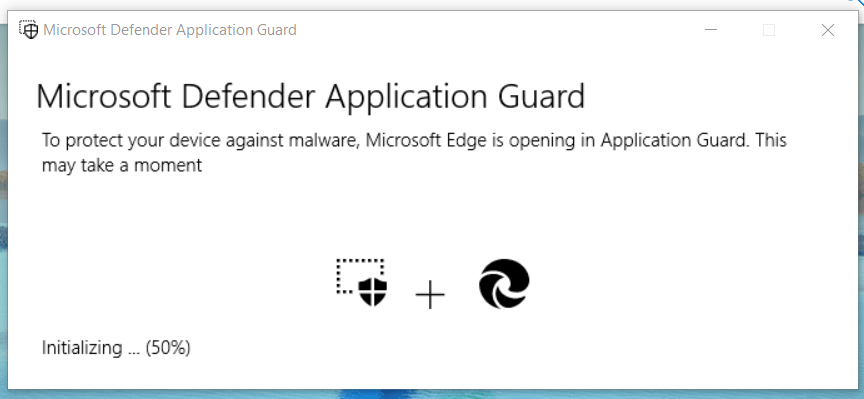 Endpoint Manager and Windows Defender Application Guard