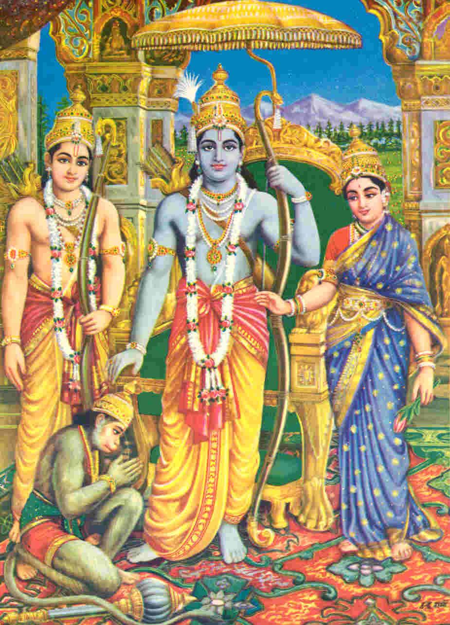 Ram Darbar 3d Wallpaper Gods And Goddesses Of Vedic Culture