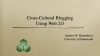 CrossCulturalBlogging