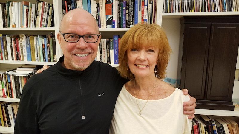 Stephen Cope and Nancy Fernandez Mills