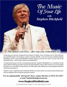 Stephen Ditchfield Promotional Flier sample pic