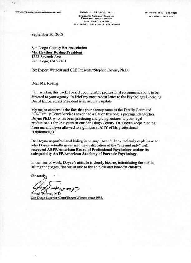 Dr Stephen Doyne Phd