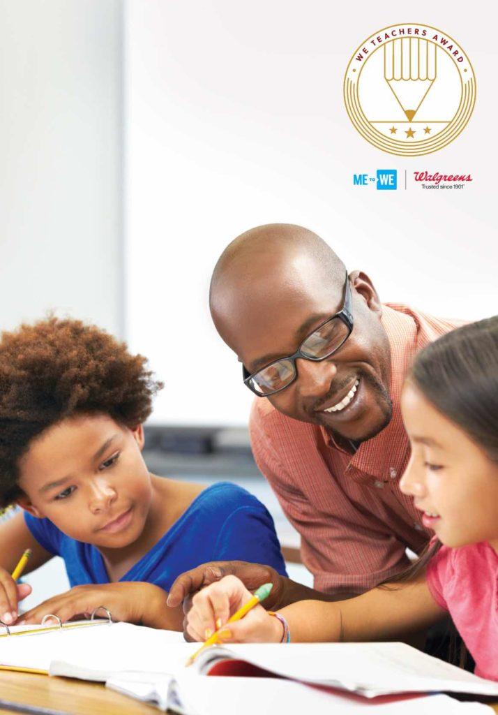 Nominate A Teacher For A WE Teacher Award