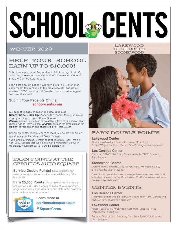 School Cents - Winter 2020