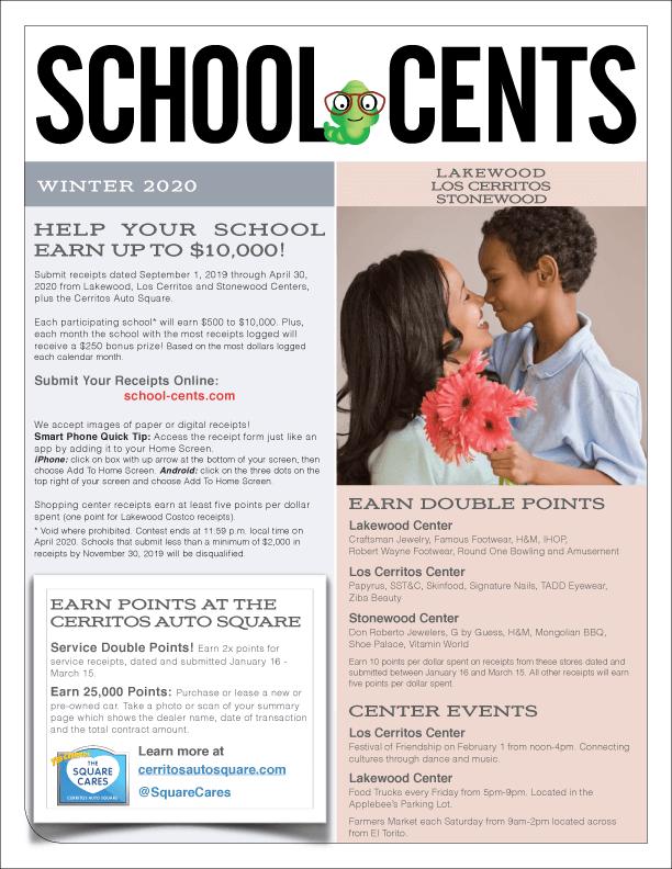 School Cents - Winter 2020
