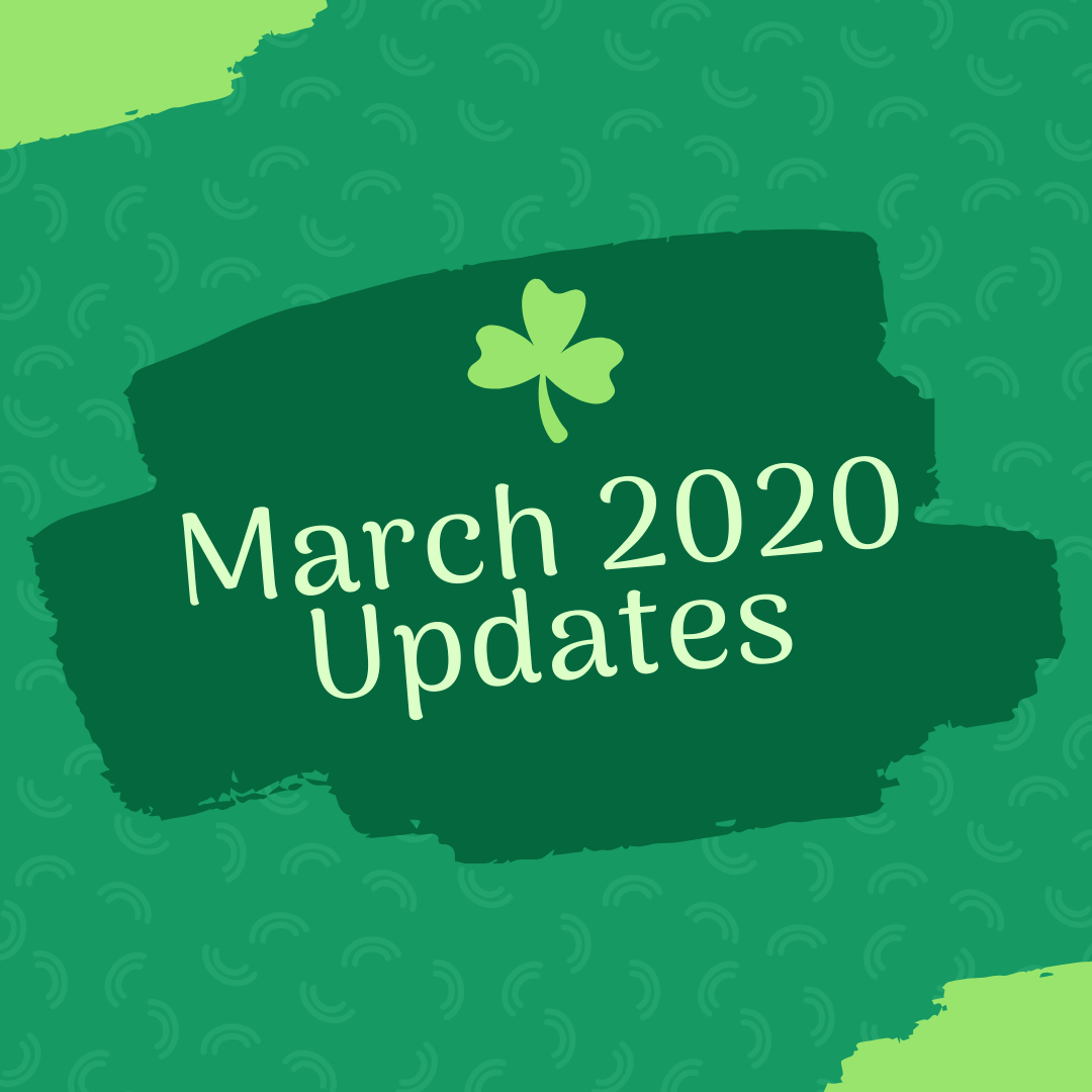 March 2020 Events