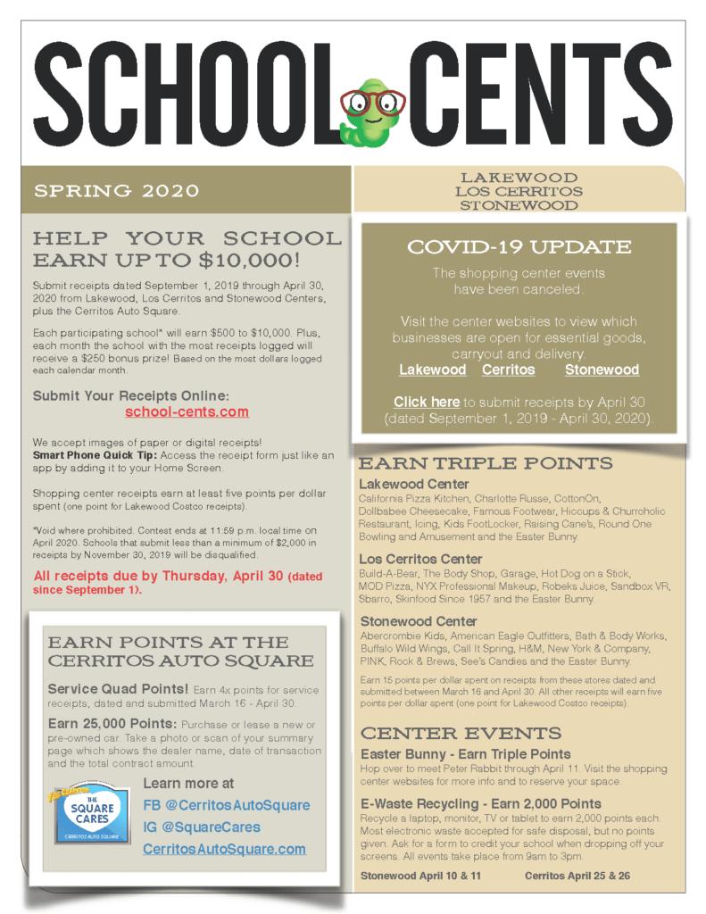 School Cents 2020 April