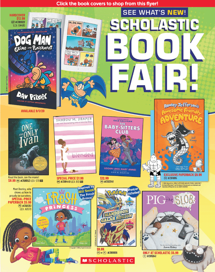 Fall 2020 Bookfair 1