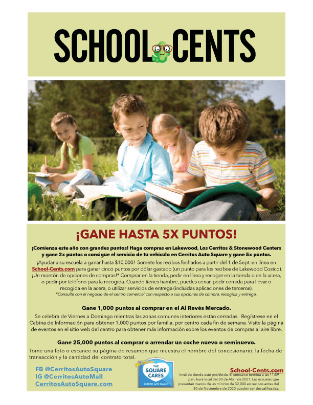 School Cents 2020- 2021 Espanol