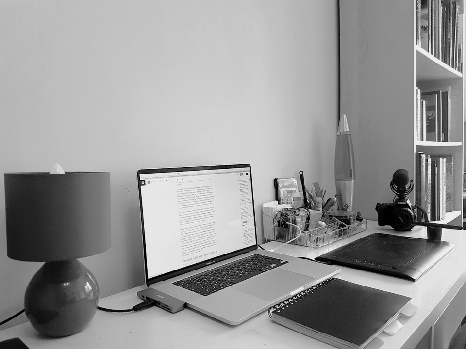 My home work space