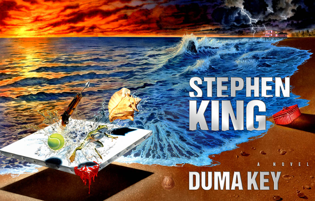 Duma Key, by Stephen King (image linked from King's website for review purposes)