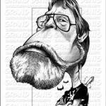 Caricatures de Stephen King