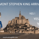 Vos photos montages de la venue de Stephen King à Paris