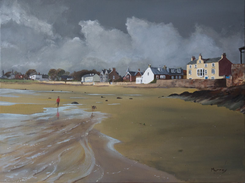 Elie Beach, Fife, Scotland by Glasgow Artist Stephen Murray
