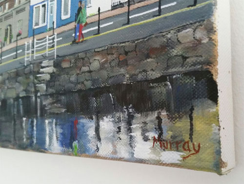 Tarbert Waterfront Stephen Murray Art