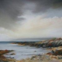 Rugged Coastline Skipness Stephen Murray Art