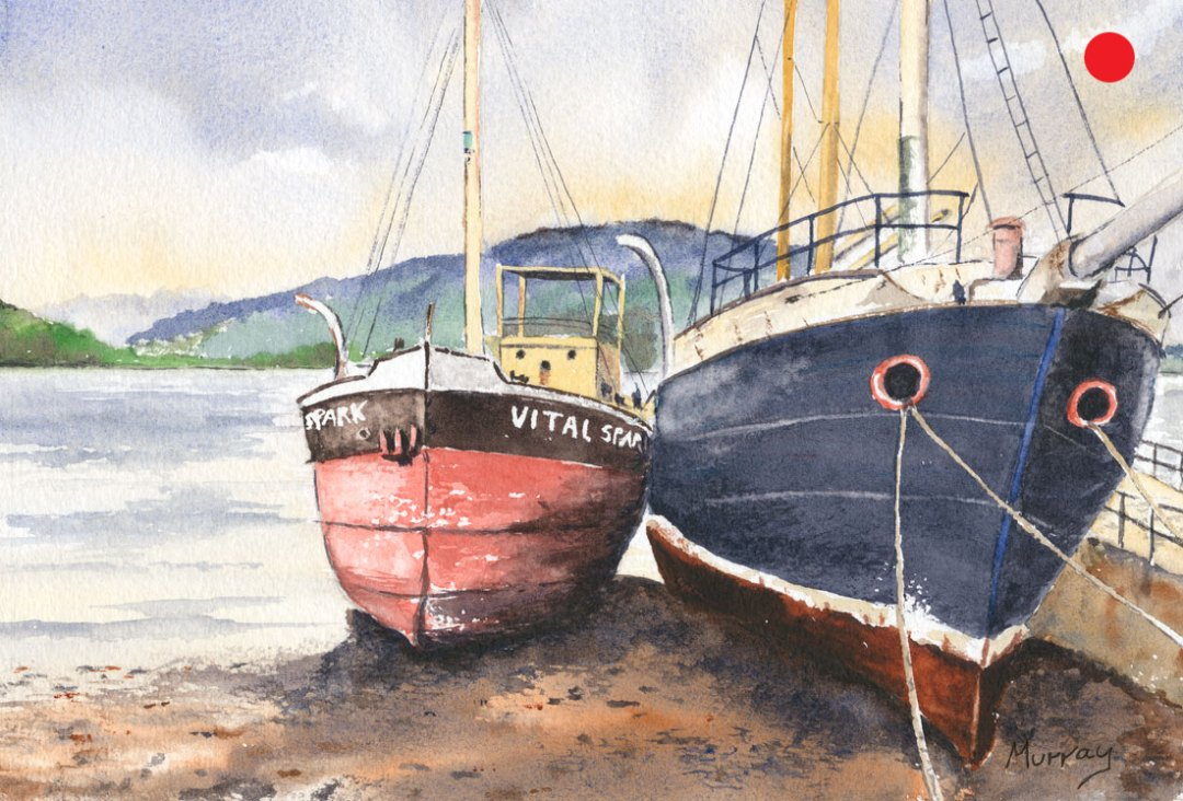 Inveraray Boats, Argyll and Bute, Scotland.