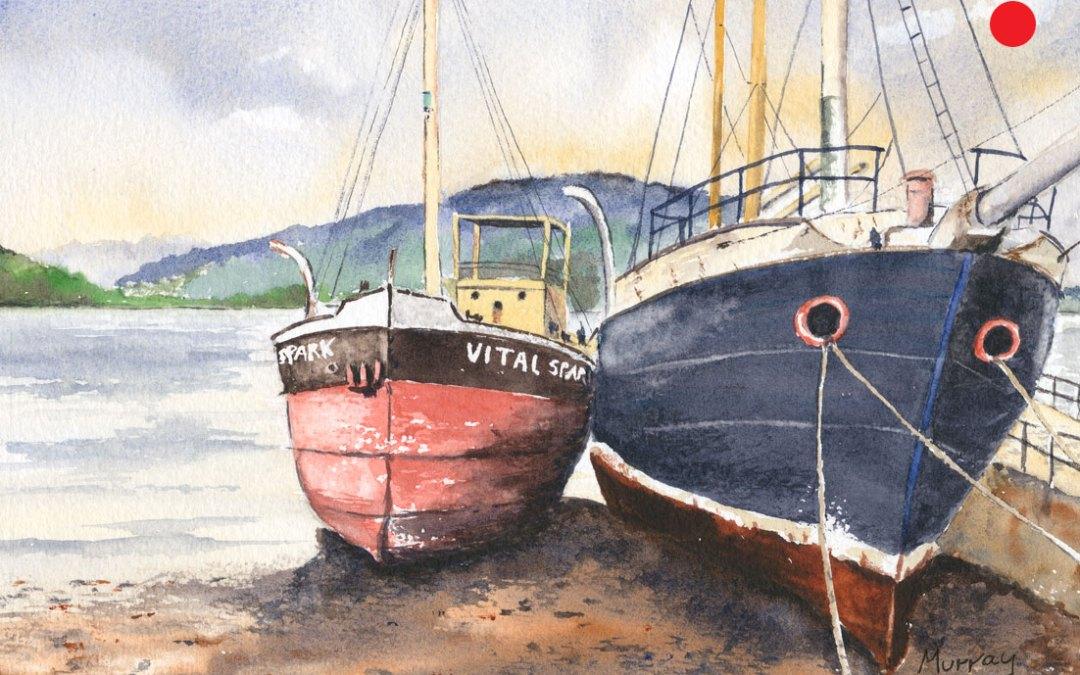 Inveraray Boats, Argyll and Bute, Scotland.