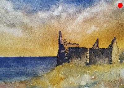 Dunure Castle, South Ayrshire, Scotland