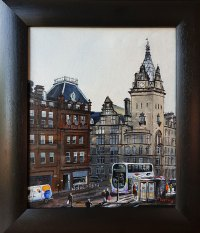 Bus on Hope Street Stephen Murray Art
