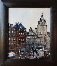 Bus on Hope Street Stephen Murray Art