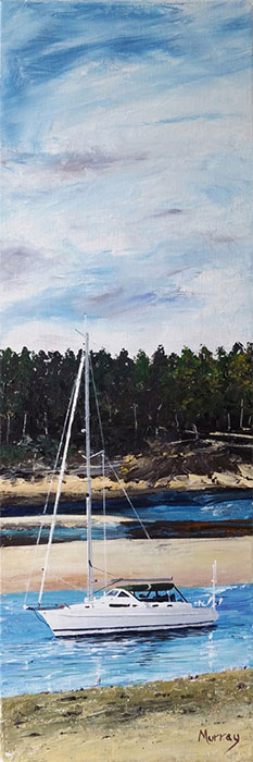 Findhorn bay - Stephen Murray Art