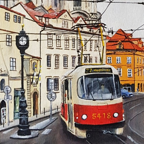 Tram, Prague, Czech Republic #2