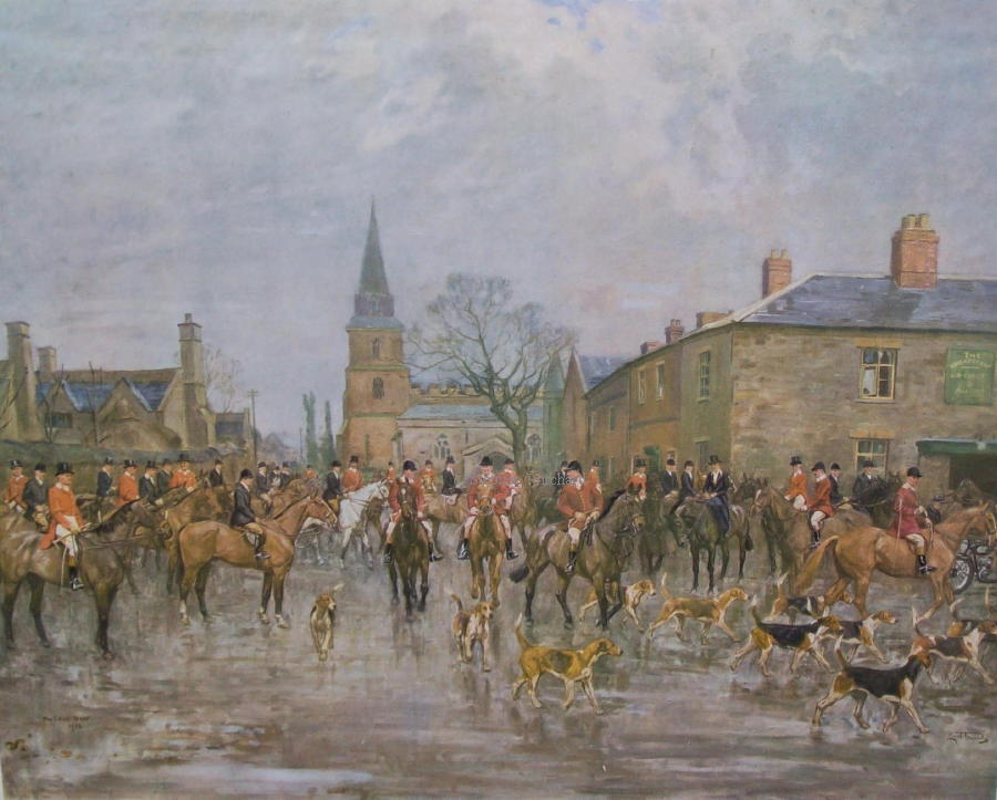 Image result for pytchley hunt
