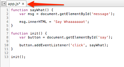 Editing the source in DevTools