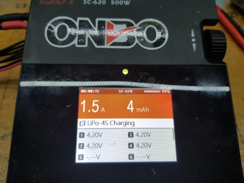 charging screen