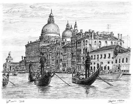 stephen wiltshire venice from memory