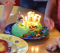 Ryan's 6th birthday cake