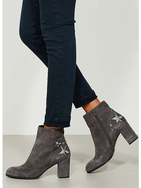 Mint velvet MILA SMOKE STAR HEEL BOOT